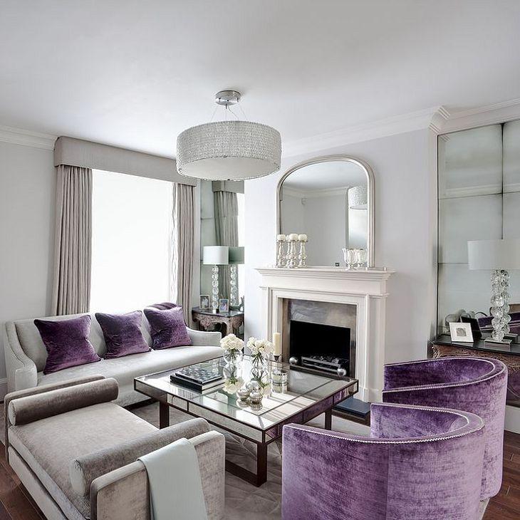 Die besten 25+ Lila wohnzimmersofas Ideen auf Pinterest Lila - wohnzimmer grau violett