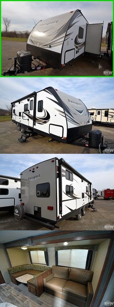 rvs: New 2017 Passport Gt 2670Bh Towable Travel Trailer Keystone Rv Outside Kitchen -> BUY IT NOW ONLY: $19999 on eBay!