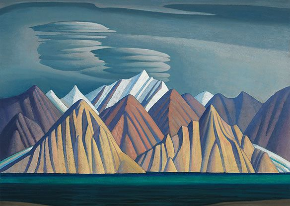 """Bylot Island I"", Lawren Harris. Group of Seven."