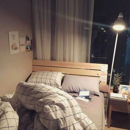 格子控的請舉手!格子類就是會讓人格外放鬆呀,今天就為你的床改造成時尚格紋吧 - PopDaily 波波黛莉的異想世界