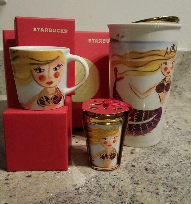 3 starbucks siren mermaid 2015 dot ccollection withtumbler demi