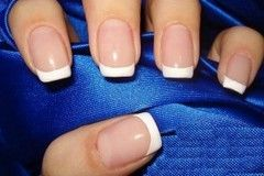 Manicured French Tips For Different Types of Nail Manicures