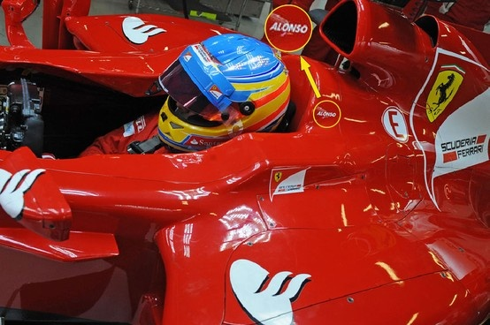 Alonso's name