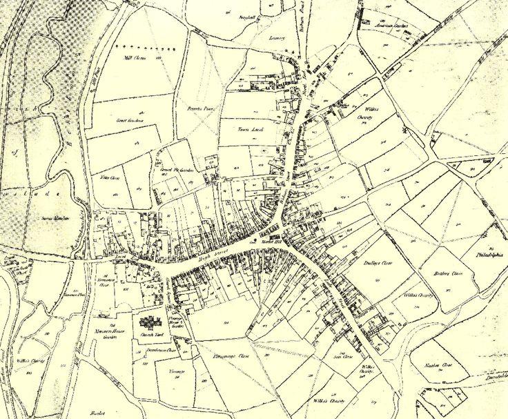 1819 Map of Leighton Buzzard
