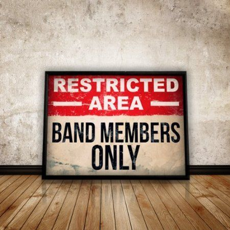 Bedroom Poster, Band Poster, Size:16.5 inch x 11.7 inch, Music Poster, Wall Art, Home Decor, Teen, Student, Unframed | Bedroom Posters, Band Posters and Music …