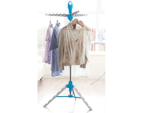 Hang Away Multi hanger   This telescopic hanger is perfect for when space is at a premium. Fully extendable and simple to assemble, it allows you to hang drying anywhere inside or out. Size: H 158cm x 65cm.  To order one click on the picture