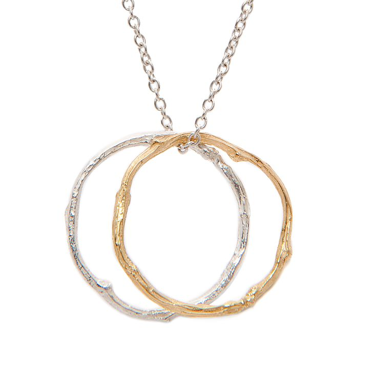 Twig Circles Necklace | I Love A Lassie | Wolf & Badger