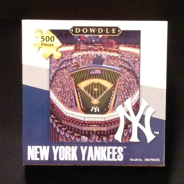 Enjoy Learning Us Map Puzzle%0A New Dowdle New York Yankees     Piece Puzzle      x      USA