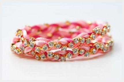 How to make yarn bracelets- a good choice of valentine s day jewelry - CraftStylish