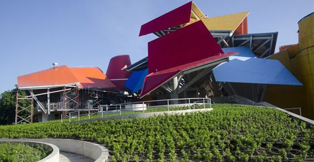 Frank Gehry biomuseo - Panama (ArchitetturaEcosostenibile.it)