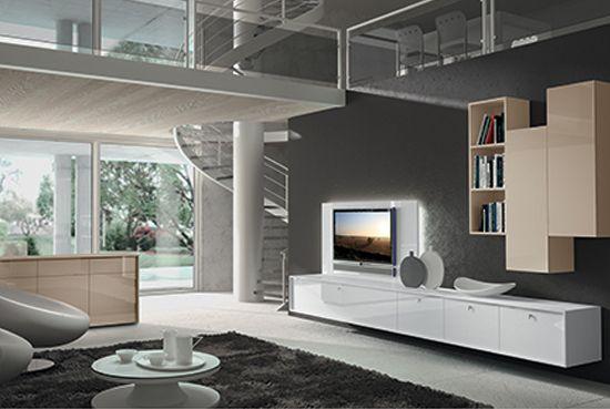 """Mobili zona giorno """"Thesis"""" di Tisettanta, mobili soggiorno design"""