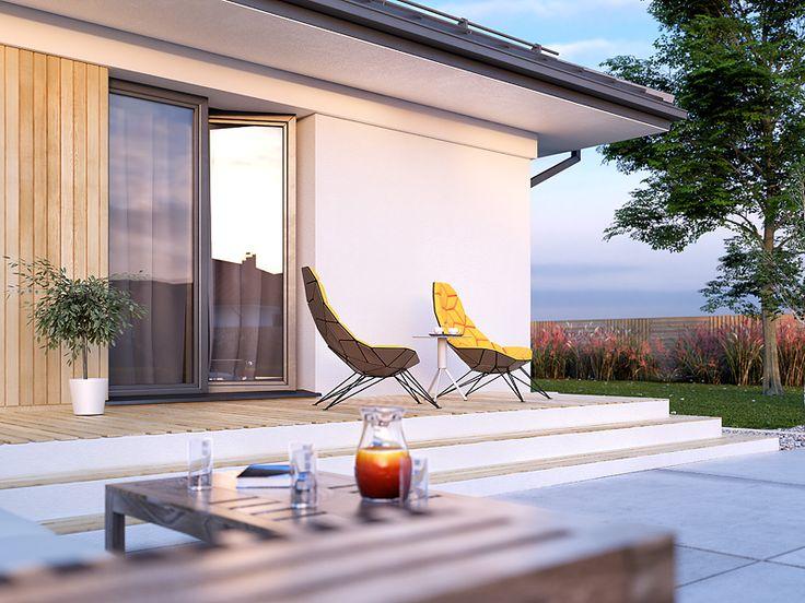 Projekt Decyma 10 (98 m2). Pełna prezentacja projektu dostępna jest na stronie: https://www.domywstylu.pl/projekt-domu-decyma_10.php #decyma #domywstylu #mtmstyl #projekty #projektygotowe #dom #domy #projekt #budowadomu #budujemydom #design #newdesign #home #houses
