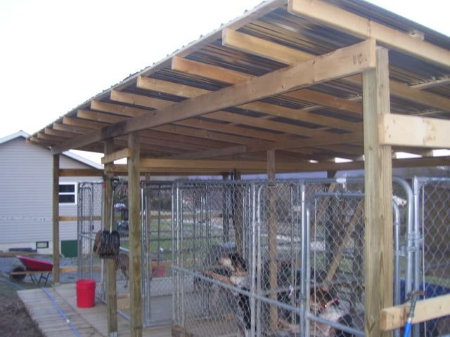 Ukc forums ideas on kennel setup for our fur babies for Building dog kennels for breeding