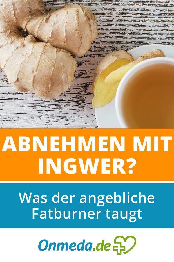 Stoffwechsel ankurbeln mit Ingwer - Stoffwechsel anregen..