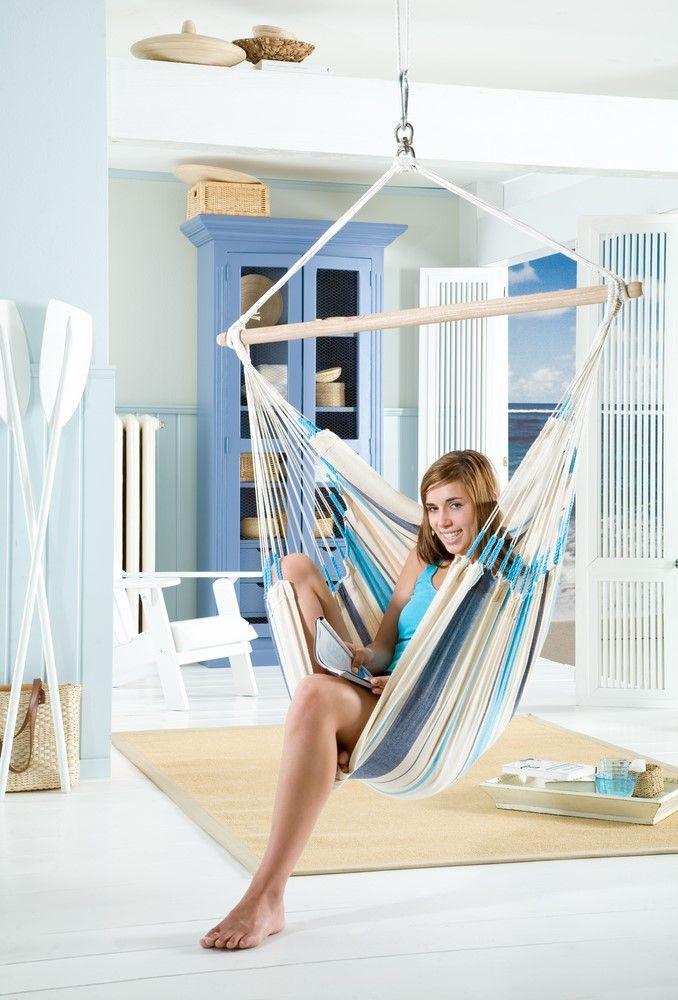 Montaż fotela hamakowego w pokoju – ChillGarden