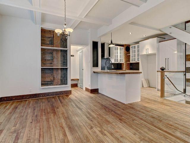 Le bâti valorisé lors de la rénovation - Au Québec, une maison à double visage