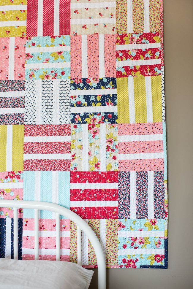 Beginner Baby Quilt With Boundless Flower Shoppe craftsy.com