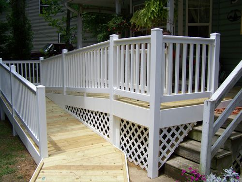 Best 25 handicap ramps ideas on pinterest wheelchair for Handicap stairs plans