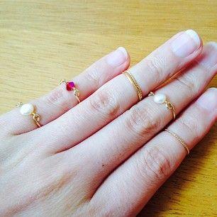 「ファランジリング」とは第一関節と第二関節の間につける指輪のことです!...