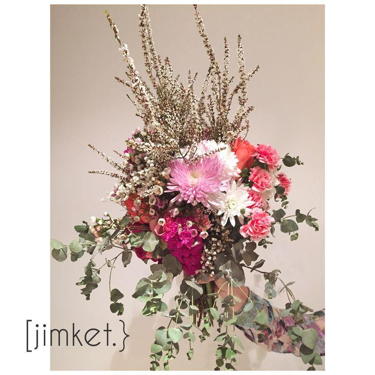 Floral bouquet unstructured