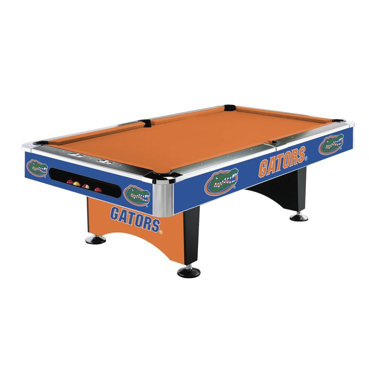 8Ft Pool Table - University Of Florida Gators