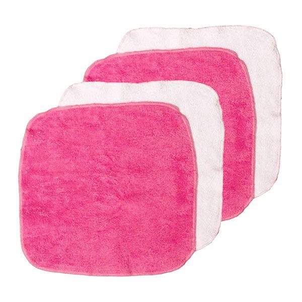 Λαβέτα ώμου Ροζ (σετ 4 τεμ.)