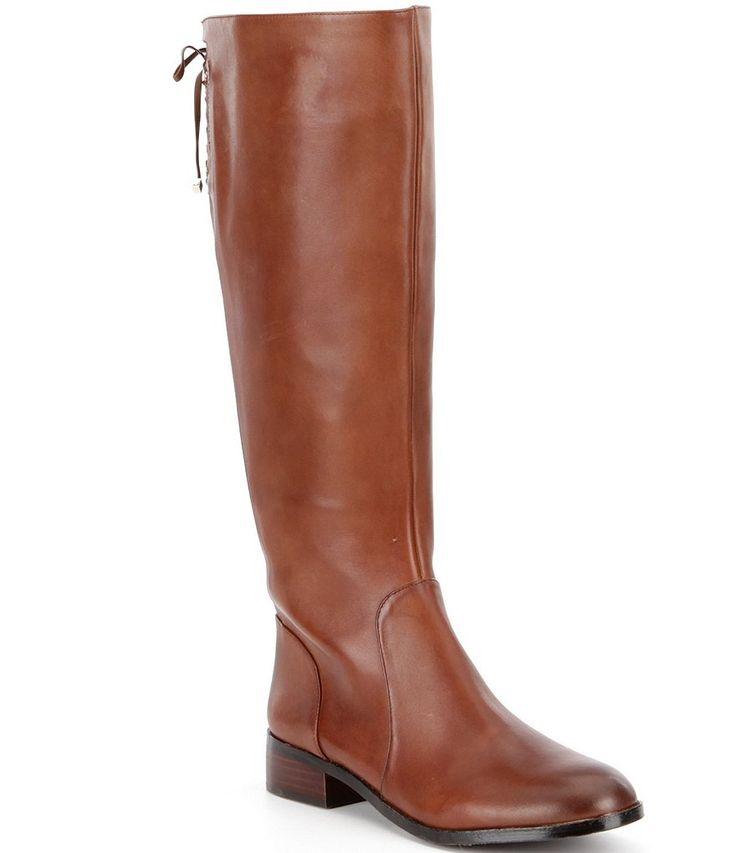 True Brandy:Antonio Melani Eastyns Wide Calf Riding Boots