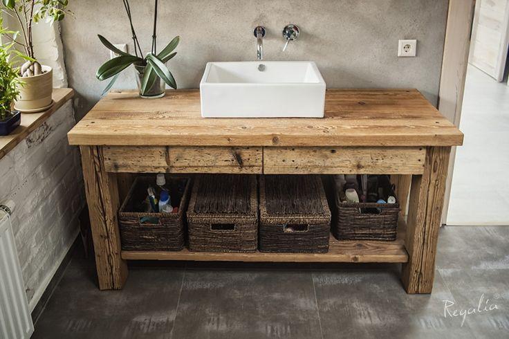Regalia - polska manufaktura ekskluzywnych mebli ze starego drewna