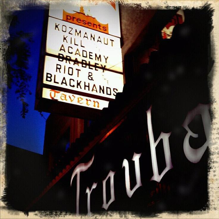 The Troubadour 2011 w/ Kozmonaut