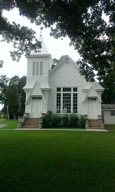 Little White Church in Chickamauga, GA