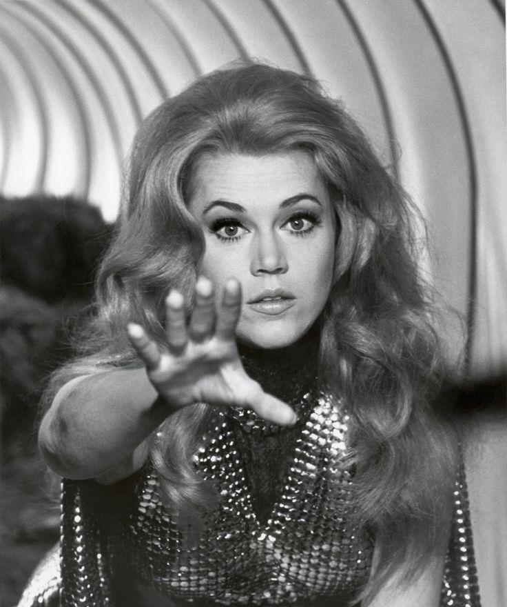 """Jane Fonda en """"Barbarella"""", 1968"""
