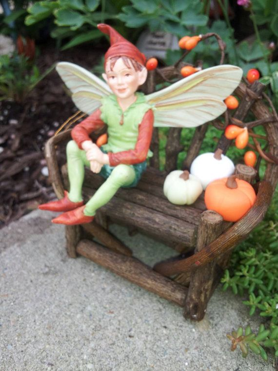 Check out this item in my Etsy shop https://www.etsy.com/listing/459106566/3-fairy-pumpkins-fairy-garden-in-orange