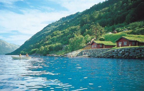 House in Utne, Norway.