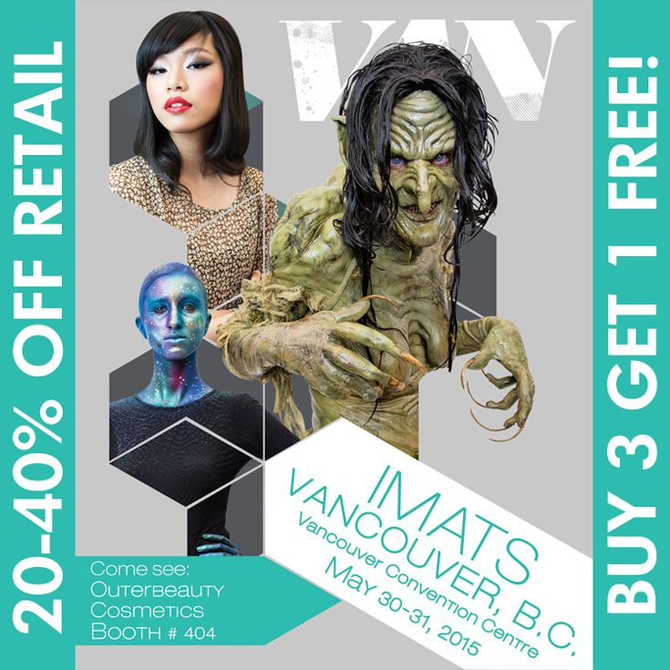 Who is going to IMATS Vancouver this weekend (May 30-31, 2015)? Come drop by our booth (404). We have lots of new makeup brushes and show specials. Arrive early to shop the best selection. #makeupbrushes #minklashes #fakeeyelashes #makeupsponges #makeupsale #promua #mua #promakeupartist #bbloggers #beautybloggers #beautyvlogger #makeupchat #makeuptalk #makeupjunkie #imats #imats2015 #imatsvancouver   #outerbeautycosmetics #outerbeautyinc