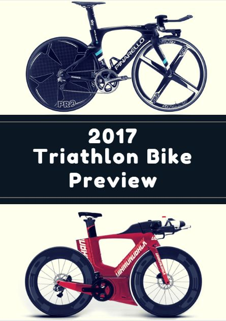 The triathlon season has come and gone, and no doubt you drooled over a few bikes in T1 this year. Wondering what's in store for 2017? From $14,000 frames to bang-for-your-buck value, we've got the inside look at the best new triathlon bikes available in the coming year. 2017 Triathlon Bike Preview http://www.active.com/triathlon/articles/2017-triathlon-bike-preview?cmp=17N-PB33-S14-T1-D3--1102