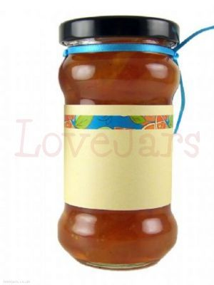 Mixed Citrus Line Jar Wrap - elegant and understated, makes a great accent note in a range of jar treatments