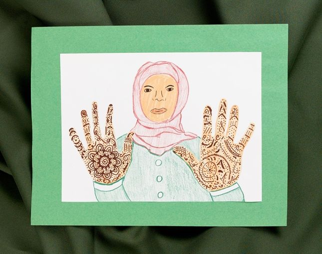My daughter and i have been doing henna hands for the last for Temporary tattoo tracing paper