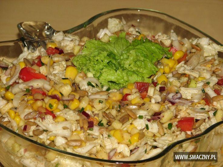 Słonecznikowa sałatka do grilla - zdjęcie 2