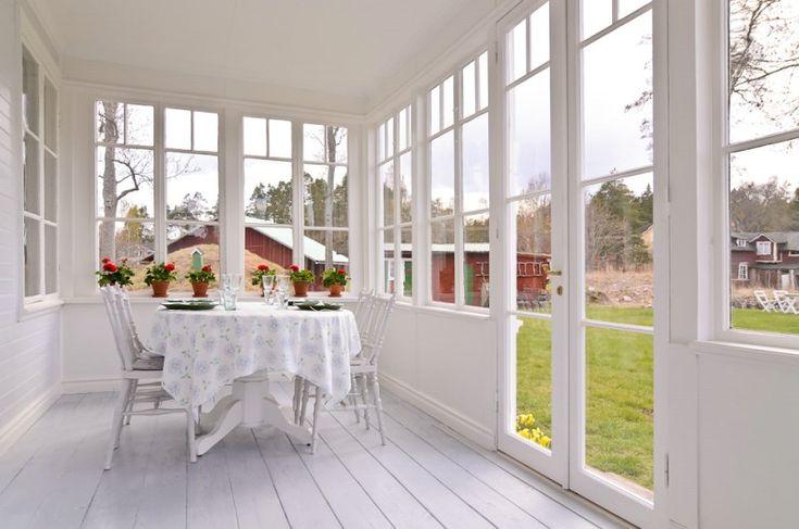 glasveranda - fina fönster