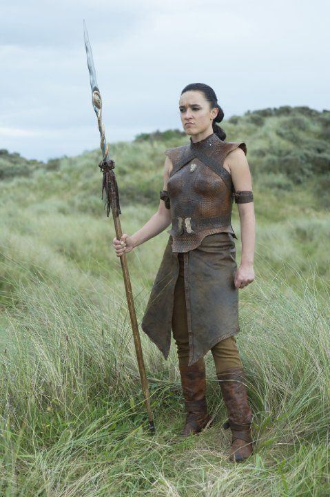 Keisha Castle-Hughes in Game of Thrones (2011). She is Maori, not black, but as I do not have a board for Aboriginal/First Nations actors in this genre (yet) I'm going to leave her on this board for the moment.