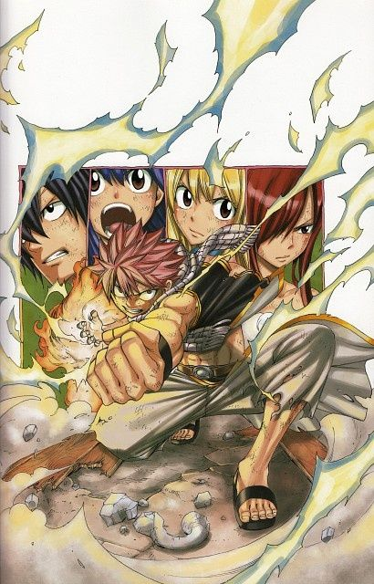 Fairy Tail anime and manga