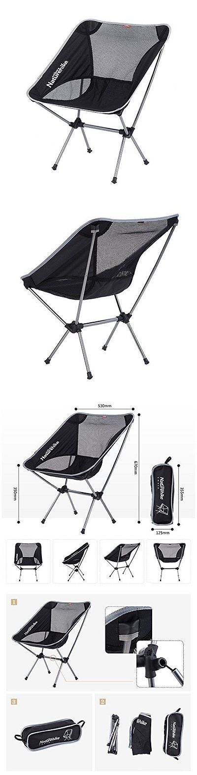 Chairs and Seats 19985: Portable Camping Aluminium Alloy Stool Outdoor Foldable Fishing Camping Chair -> BUY IT NOW ONLY: $36.99 on eBay!