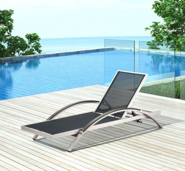 Zuo Modern Patio Furniture.Zuo Modern Metropolitan Outdoor Chaise Lounge Chair Deck Pool Patio