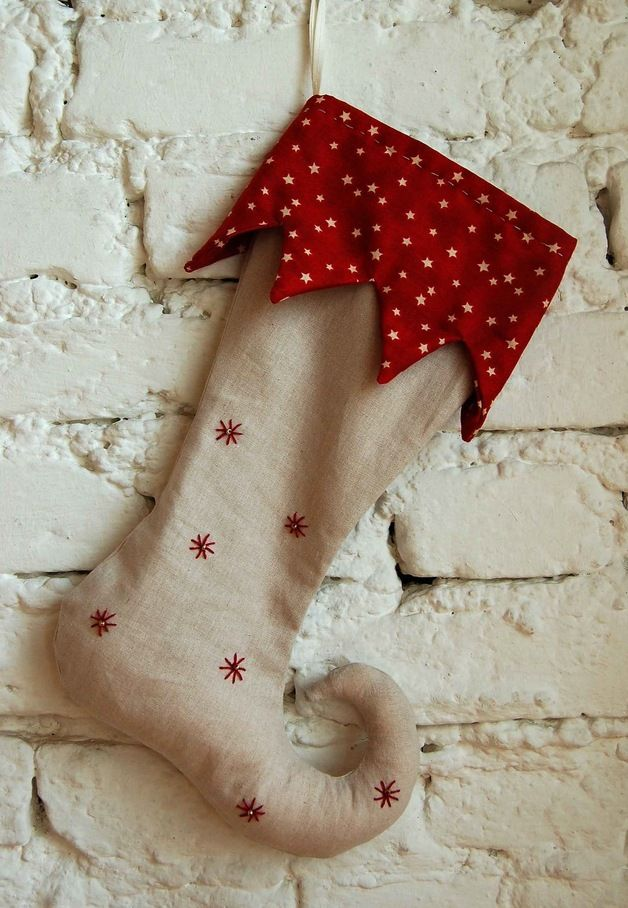 Weihnachtsstiefel Traditionell Christmas stocking