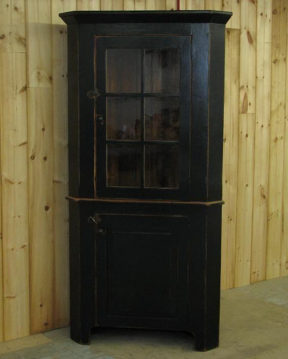 Amish Barn Wood Corner Hutch CabinetCorner HutchWood CabinetsCupboardsBarn WoodAmishBookcasesWoodworkingDining Rooms
