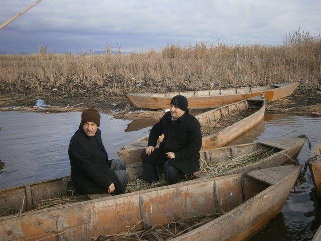 Kayacan, Eber Gölü'nü inceledi