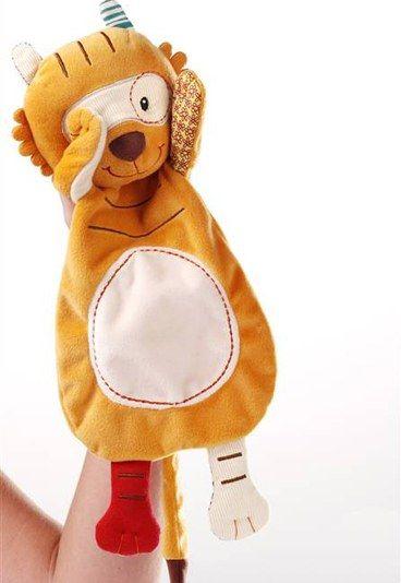 Giochi per neonati: Tom, la tigre marionetta