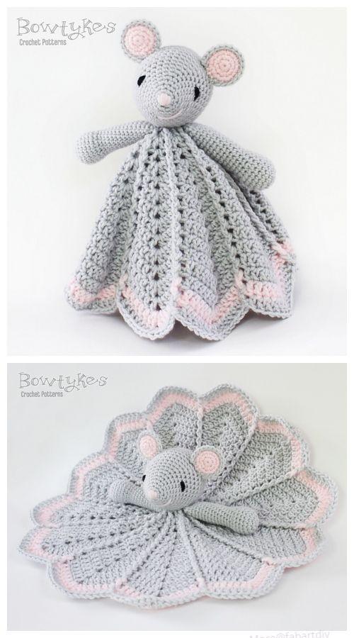 Häkeln Sie kleine Maus Lovey Crochet Pattern | Selber Machen ...