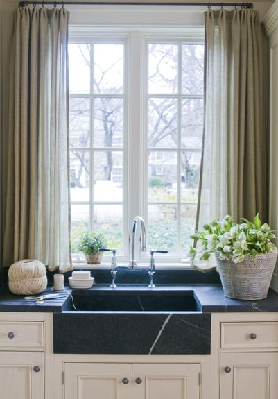 Top 21 Ideas About Curtains Over Kitchen Sink On Pinterest