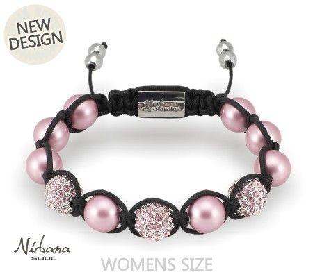 Ein bezauberndes Armband in zartrosé-farbenen original Swarovski-Perlen und rosa Himalaja Kristallen. Ein zeitloser Schmuck, der sich wunderbar mit anderen Armbändern kombinieren lässt.